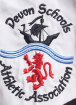 Devon Schools Athletics Logo